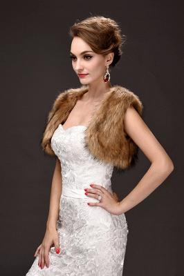Jacke für Brautkleid Winter | Bolero Hochzeitskleid_3