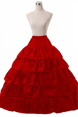Crinoline under wedding dress | Underskirt red_5