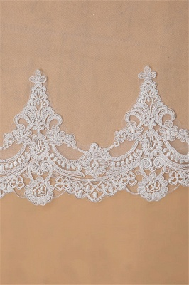 Wedding hairstyle with veil | Bridal veil long_5