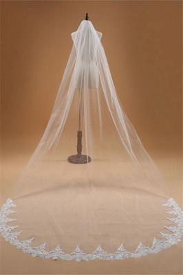 Wedding hairstyle with veil | Bridal veil long_3