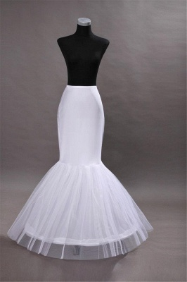 Hoop skirts wedding mermaid | Petticoat wedding dress