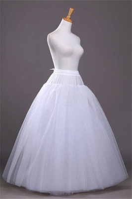 Underskirt Wedding Dress A Line | Hoop skirts wedding_4