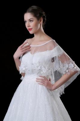 Bolero for wedding dress | Jacket wedding dress ivory lace_3