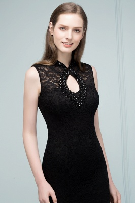 Evening dresses long black | Evening wear women_5