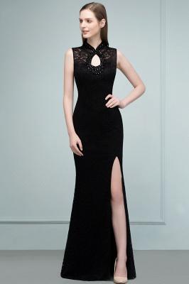Evening dresses long black | Evening wear women_11