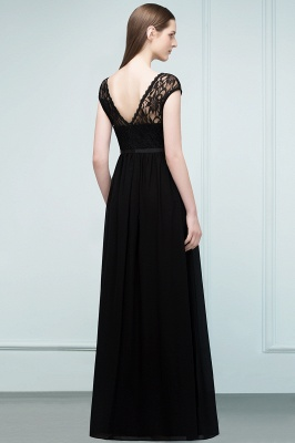 Elegant Evening Dresses Long Black | Festive dresses_3