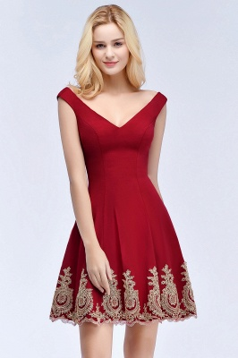 Red Cocktail Dresses Short | Prom Dresses Cheap Online_6
