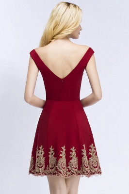 Red Cocktail Dresses Short | Prom Dresses Cheap Online_3