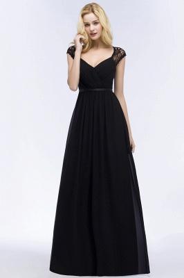 Abendkleid Lang Schwarz | Schlichte Abendkleider_11