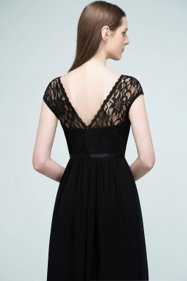 Elegant Evening Dresses Long Black | Festive dresses_9