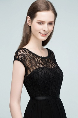 Elegant Evening Dresses Long Black | Festive dresses_5