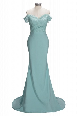 Mint Green Bridesmaid Dresses Long With Lace Mermaid Dresses For Bridesmaids_5