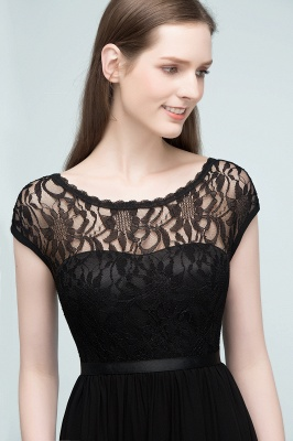 Elegant Evening Dresses Long Black | Festive dresses_8