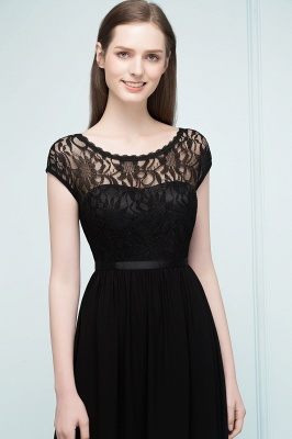 Elegant Evening Dresses Long Black | Festive dresses_4
