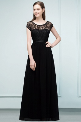 Elegant Evening Dresses Long Black | Festive dresses_1