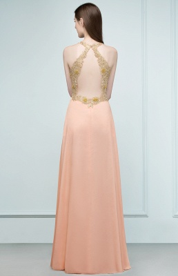 Cheap Evening Dresses Long V Neck | Evening dress with lace_3