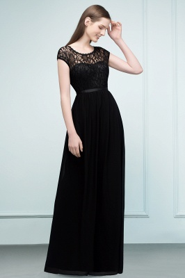 Elegant Evening Dresses Long Black | Festive dresses_7