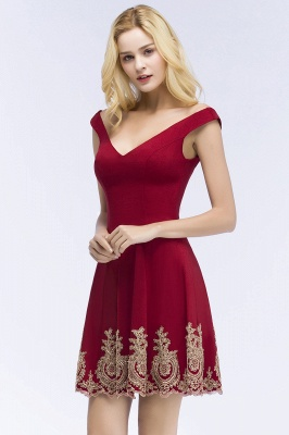 Red Cocktail Dresses Short | Prom Dresses Cheap Online_5