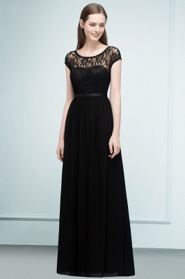 Elegant Evening Dresses Long Black | Festive dresses_2