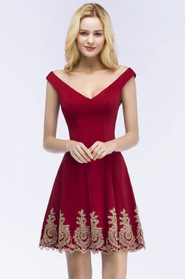 Red Cocktail Dresses Short | Prom Dresses Cheap Online_1