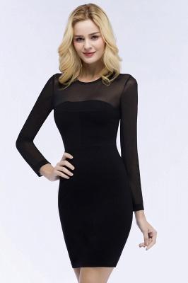 Festliche Kleidung Damen | Cocktailkleider Kurz Schwarz_9