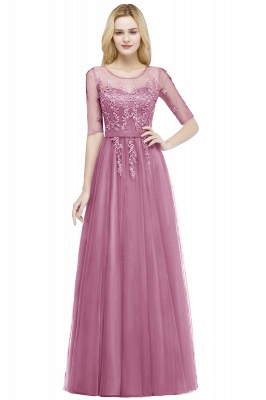 Evening dresses with sleeves | Prom dresses long cheap_2