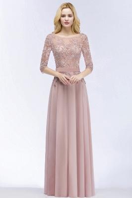 Beautiful bridesmaid dresses with sleeves | Bridesmaid dress long pink