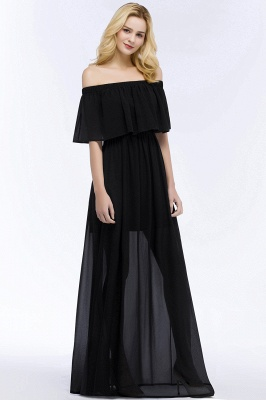Evening dress long black | Evening wear online_8