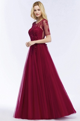 Evening dresses with sleeves | Prom dresses long cheap_10