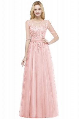 Evening dresses with sleeves | Prom dresses long cheap_1