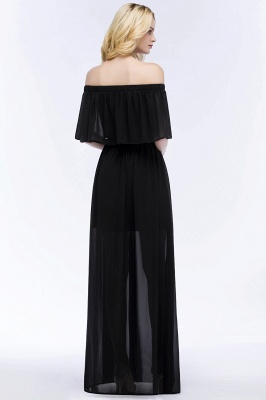 Evening dress long black | Evening wear online_6
