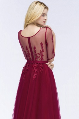 Evening dresses with sleeves | Prom dresses long cheap_12
