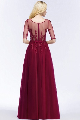 Evening dresses with sleeves | Prom dresses long cheap_6
