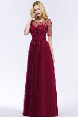 Evening dresses with sleeves | Prom dresses long cheap_7