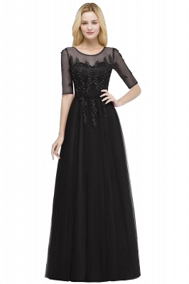 Evening dresses with sleeves | Prom dresses long cheap_4