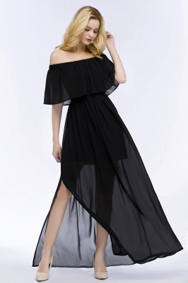 Evening dress long black | Evening wear online_10