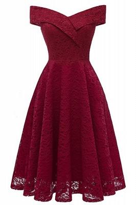 Damen Spitzenkleid Rosa   Vintage Kleider Hochzeit_3