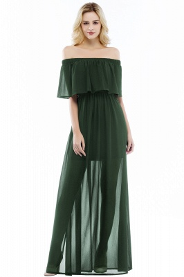 Evening dress long black | Evening wear online_4