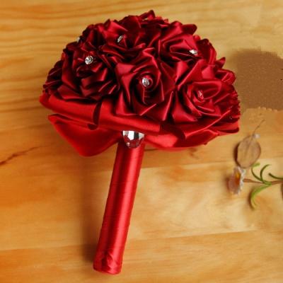 Brautstrauß Rosen Weiß | Hochzeitsstrauß Online Bestellen_5