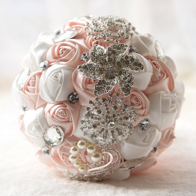 Bridal bouquet of peonies | Wedding bouquet vintage_5
