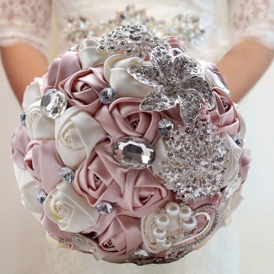 Bridal bouquet of peonies | Wedding bouquet vintage_4