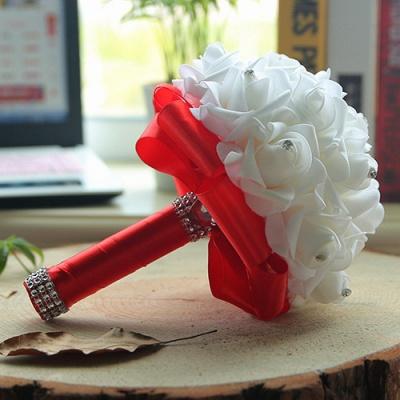 Brautstrauß Rosa Weiß | Hochzeitsstrauß Pfingstrosen_5