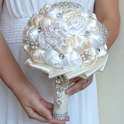 Bridal bouquet of peonies | Wedding bouquet of roses_9