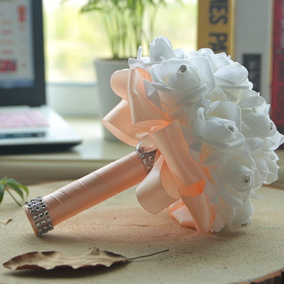 Brautstrauß Rosa Weiß | Hochzeitsstrauß Pfingstrosen_4