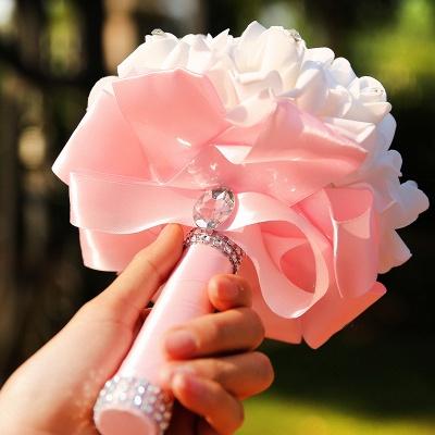 Brautstrauß Rosa Weiß | Hochzeitsstrauß Pfingstrosen_14