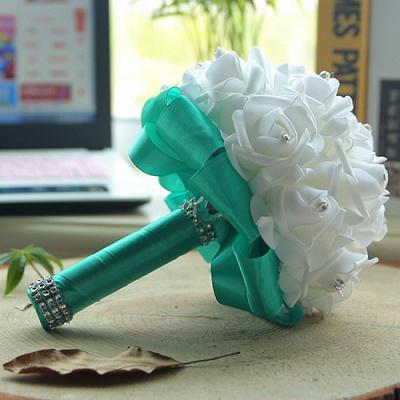 Brautstrauß Rosa Weiß | Hochzeitsstrauß Pfingstrosen_12