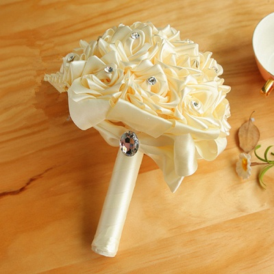 Bridal bouquet of roses white | Order wedding bouquet online_2