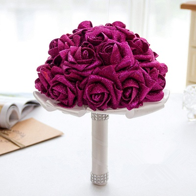 Bridal bouquet registry office wine red | Wedding bouquet_2