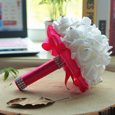Brautstrauß Rosa Weiß | Hochzeitsstrauß Pfingstrosen_6