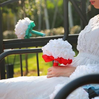 Brautstrauß Rosa Weiß | Hochzeitsstrauß Pfingstrosen_15